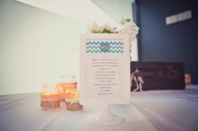 Wedding stationary at The Waterfront in Wollongong