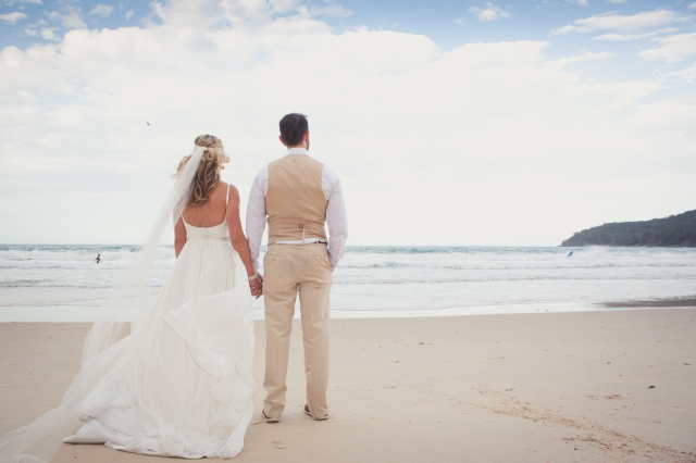 Noosa beach wedding ; Kat Stanley Photography