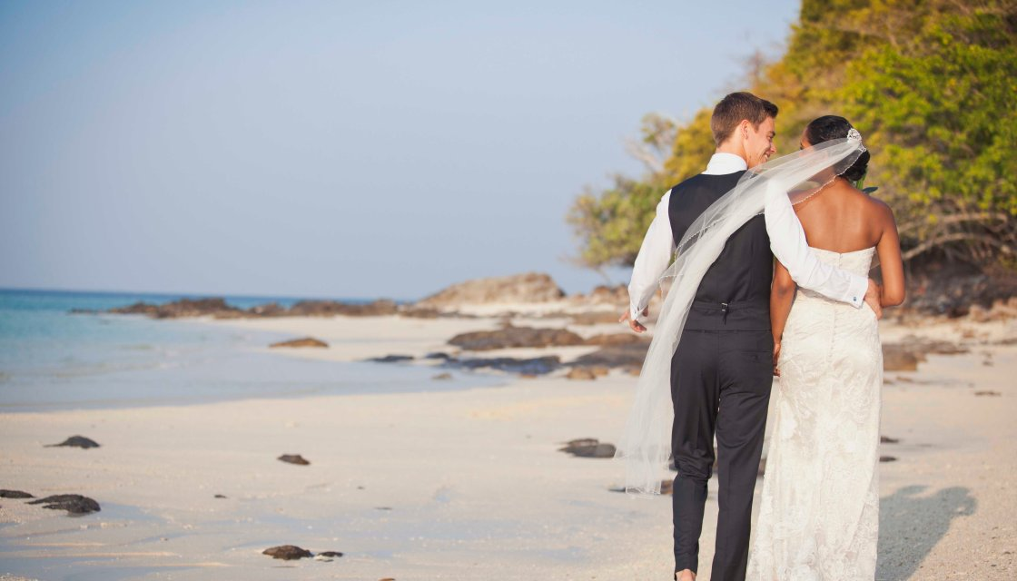 Destination wedding in Phi Phi Island