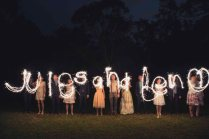 Kat Stanley Photography Night Time Wedding Blog