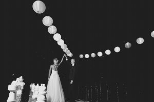 night time wedding photos : Kat Stanley Photography