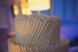 Traditional wedding cake with a twist of white chocolate, Noosa