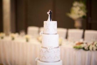 Traditional wedding cake, Sydney Harbour Wedding, Linda & Dean