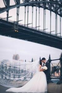 Bride and groom Sydney